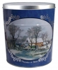 Currier & Ives Grist Mill Create Your Own Custom Gourmet Popcorn Tin with your Logo or Photo