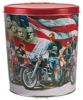 Motorcycle Create Your Own Custom Gourmet Popcorn Tin with your Logo or Photo