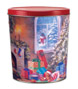 Night Before Christmas Create Your Own Custom Gourmet Popcorn Tin with your Logo or Photo