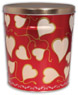 Sweet Hearts Create Your Own Custom Gourmet Popcorn Tin with your Logo or Photo