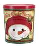Warm Winter Blessings Create Your Own Custom Gourmet Popcorn Tin with your Logo or Photo