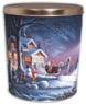 Winter Wonderland Create Your Own Custom Gourmet Popcorn Tin with your Logo or Photo
