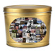 200th Anniversary of the Birthday of Abraham Lincoln Collage Print Gold Hometown Heirloom Create Your Own Custom Gourmet Popcorn Tin with your Logo or Photo
