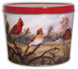 Farm Cardinals Create Your Own Custom Gourmet Popcorn Tin With Logo or Photo on the Lid from any of these designs