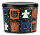Halloween PatchworkCreate Your Own Custom Gourmet Popcorn Tin With Logo or Photo on the Lid from any of these designs