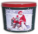 Nordic Santa Create Your Own Custom Gourmet Popcorn Tin With Logo or Photo on the Lid from any of these designs