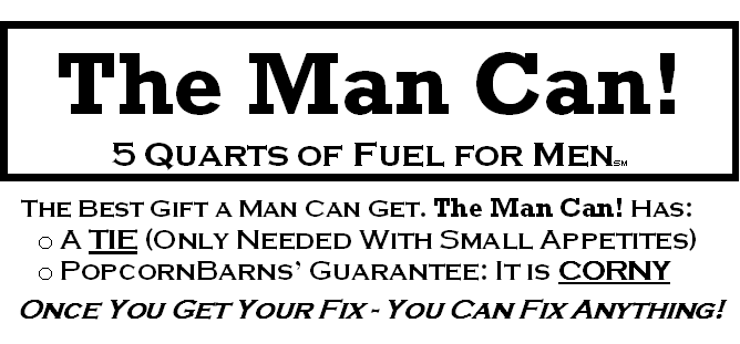 The Man Can Father's Day Back Label